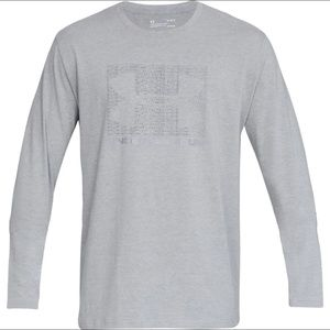 Under Armour men's UA Boxed Graphic Long-Sleeve XL